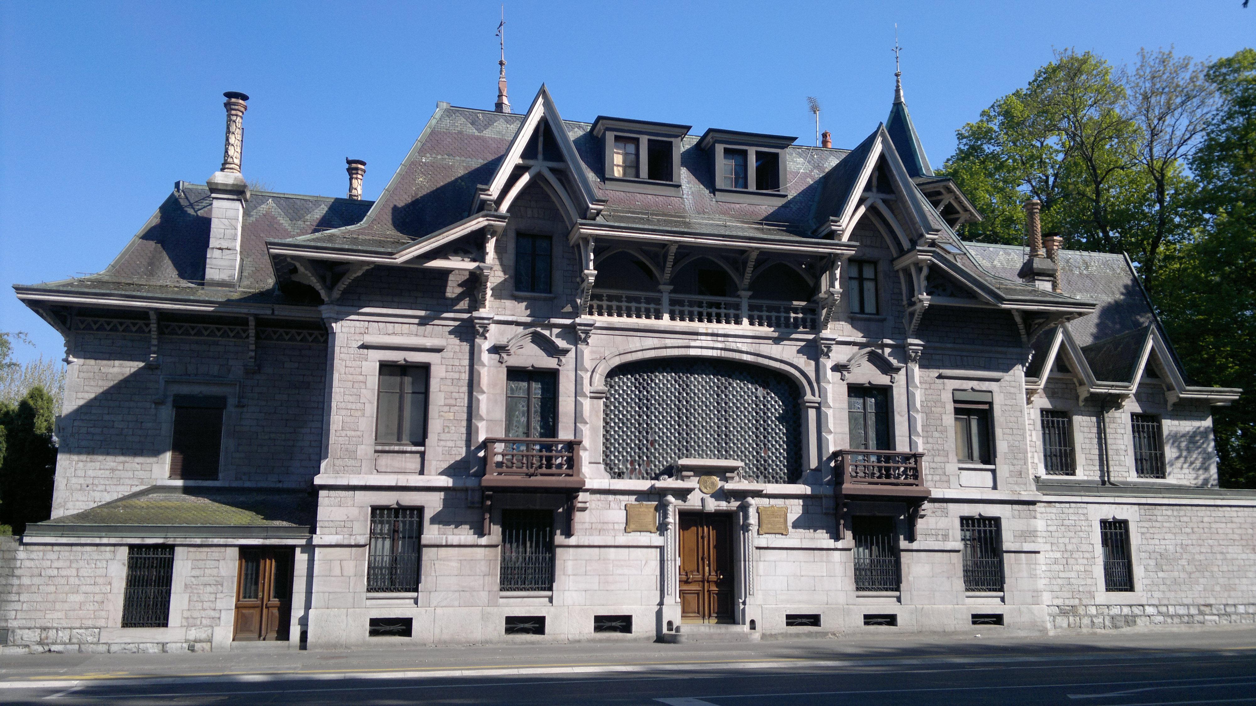 La Mission permanente (coté Route de Lausanne)